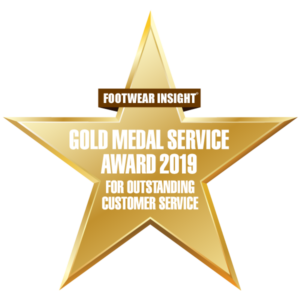gold medal service award 2019 badge